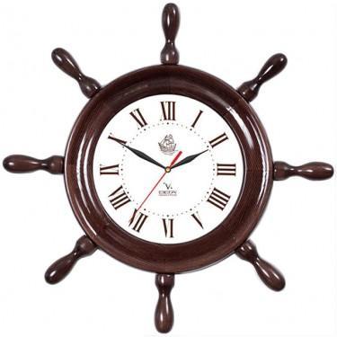 Часы настенные Вега Д 7 МД 6 коричневый часы настенные вега д 1 мд 7 8 парусник