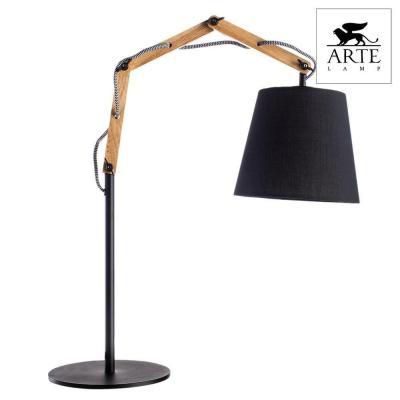 Настольная лампа Arte Lamp Pinoccio A5700LT-1BK настольная лампа декоративная arte lamp pinocchio a5700lt 1bk