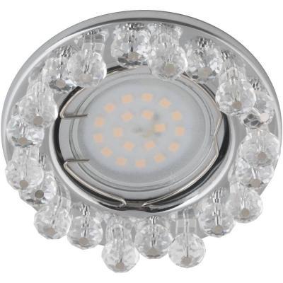 Встраиваемый светильник Fametto Peonia DLS-P118-2001 встраиваемый светильник peonia dls p118 2001 fametto 1144238