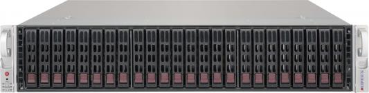 Серверный корпус 2U Supermicro CSE-216BE2C-R741JBOD 2 х 740 Вт чёрный cse 826be1c r741jbod