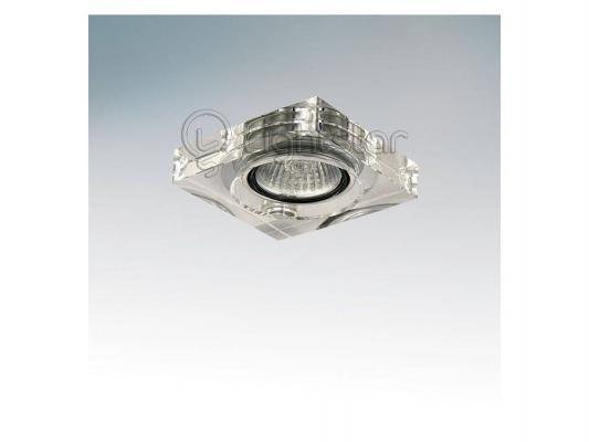 Встраиваемый светильник Lightstar Lui Micro 006160 20781 small stainless steel clips silver 10 pcs