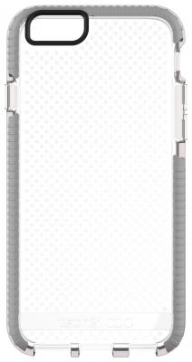 Чехол Tech21 Evo Mesh T21-5094 для iPhone 6 iPhone 6S прозрачный серый чехол для iphone tech21 t21 5094 clear grey