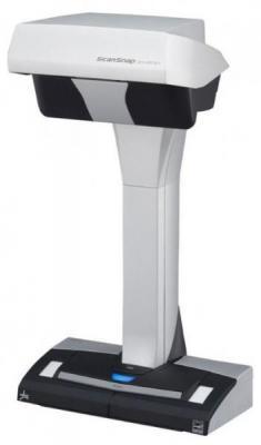 Сканер Fujitsu ScanSnap SV600 фотоаппаратный А3 285x283 dpi CCD USB бело-черный PA03641-B301