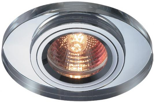 Встраиваемый светильник Novotech Mirror 369437 встраиваемый точечный светильник коллекция mirror 369437 хром прозрачный novotech новотех