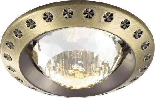 Встраиваемый светильник Novotech Glam 369645 novotech 369645