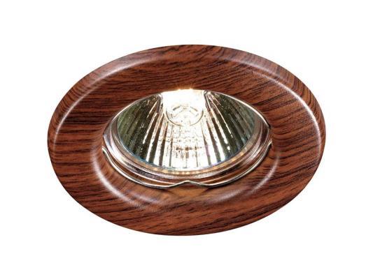 Встраиваемый светильник Novotech Wood 369714
