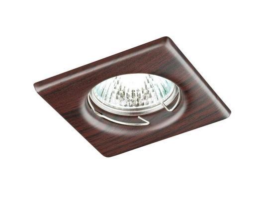 Встраиваемый светильник Novotech Wood 369718