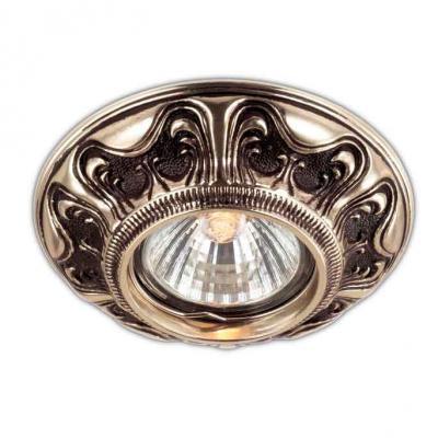 Встраиваемый светильник Novotech Vintage 369854 встраиваемый точечный светильник novotech vintage арт 369854