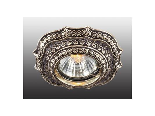 Встраиваемый светильник Novotech Vintage 369857 встраиваемый светильник novotech vintage 369857