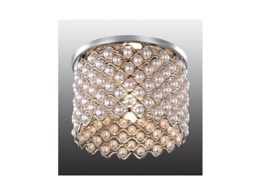 Встраиваемый светильник Novotech Pearl 369888 встраиваемый светильник novotech pearl round 369445