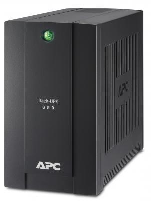 Источник бесперебойного питания APC BC650-RSX761 650VA Черный