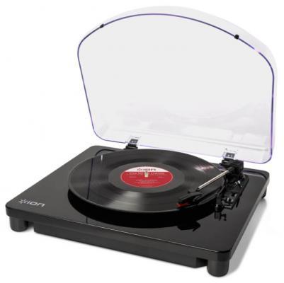 Виниловый проигрыватель ION Classic LP черный ion audio classic lp