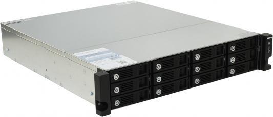 Сетевое хранилище QNAP TVS-1271U-RP-i3-8G CPU 3.5GHz