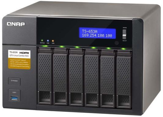 Сетевое хранилище QNAP TS-653A-8G CPU 1.6GHz
