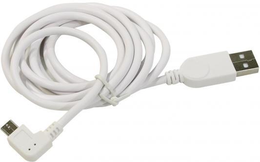Кабель USB 2.0 AM-microBM 1.5м ORIENT MU-215RB белый