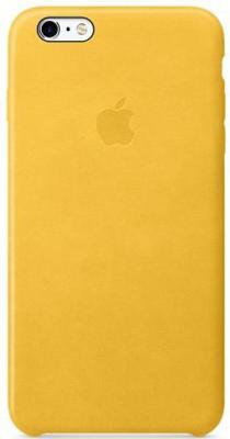 Накладка Apple Leather Case для iPhone 6S Plus iPhone 6 Plus желтый MLCX2ZM/A