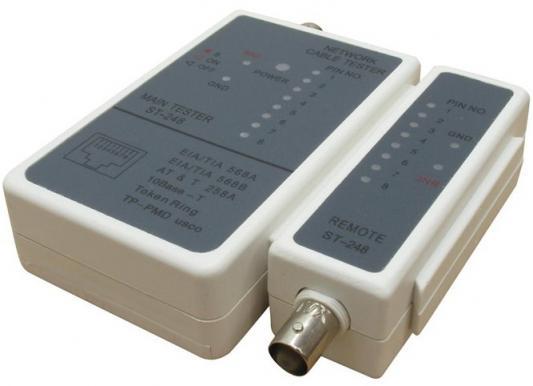 Тестер Telecom ST-248 для  RJ-11, RJ-12, RJ-45