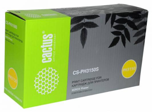 Картридж Cactus CS-PH3150S 109R00746 для Xerox Phaser 3150/3150b/3150n/3151 черный 3500стр