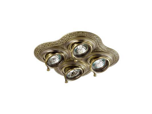Встраиваемый светильник Novotech Vintage 060 370178 светильник встраиваемый novotech pearl round nt09 060 369442