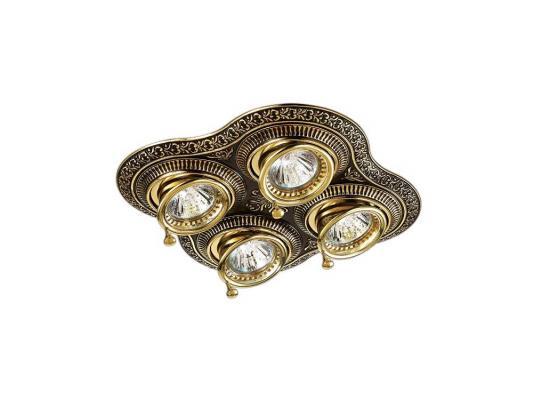 Встраиваемый светильник Novotech Vintage 060 370180 светильник встраиваемый novotech pearl round nt09 060 369442