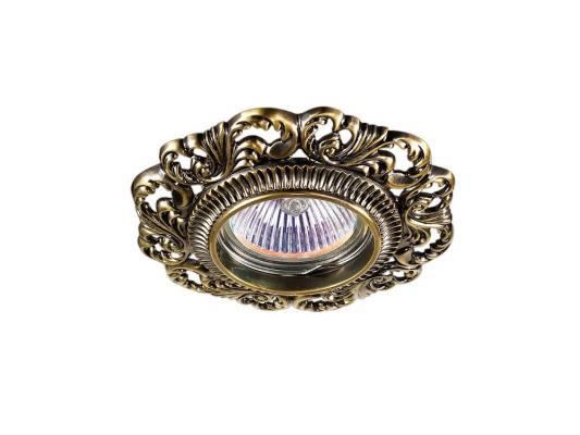 Встраиваемый светильник Novotech Vintage 122 370024 встраиваемый светильник novotech vintage 122 370029