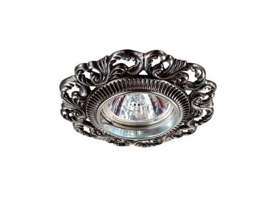 Встраиваемый светильник Novotech Vintage 122 370027 встраиваемый светильник novotech vintage 122 370029