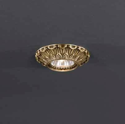 Встраиваемый светильник Reccagni Angelo SPOT 1077 oro встраиваемый точечный светильник спот spot 1082 oro золото reccagni angelo рекани анжело
