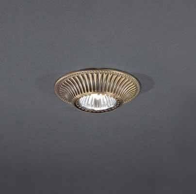 Встраиваемый светильник Reccagni Angelo SPOT 1078 oro встраиваемый точечный светильник спот spot 1082 oro золото reccagni angelo рекани анжело