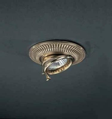 Встраиваемый светильник Reccagni Angelo SPOT 1082 oro встраиваемый точечный светильник спот spot 1082 oro золото reccagni angelo рекани анжело