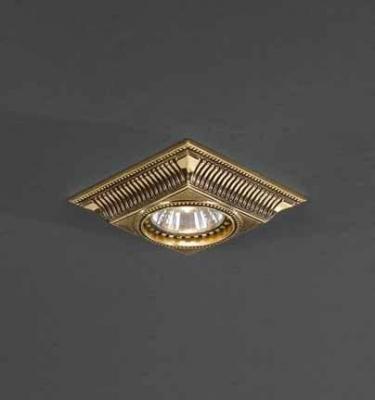 Встраиваемый светильник Reccagni Angelo SPOT 1084 bronzo встраиваемый светильник reccagni angelo spot 1077 bronzo
