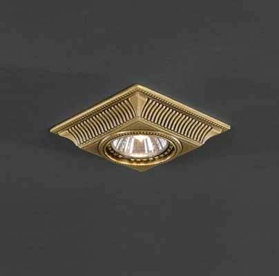 Встраиваемый светильник Reccagni Angelo SPOT 1084 oro встраиваемый точечный светильник спот spot 1082 oro золото reccagni angelo рекани анжело