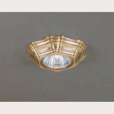 Встраиваемый светильник Reccagni Angelo SPOT 1096 Oro встраиваемый точечный светильник спот spot 1082 oro золото reccagni angelo рекани анжело