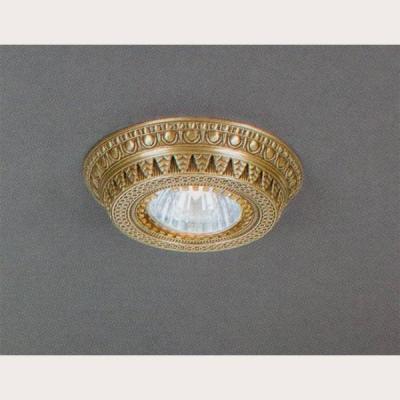 Встраиваемый светильник Reccagni Angelo SPOT 1097 Oro встраиваемый точечный светильник спот spot 1082 oro золото reccagni angelo рекани анжело
