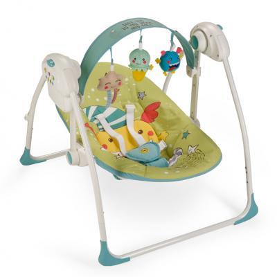 Кресло-качели Happy Baby Jolly (green)