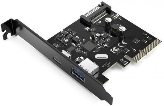 Контроллер PCI-E Orico PA31-AC контроллер pci e orico pvu3 2o2i 2xusb 3 0