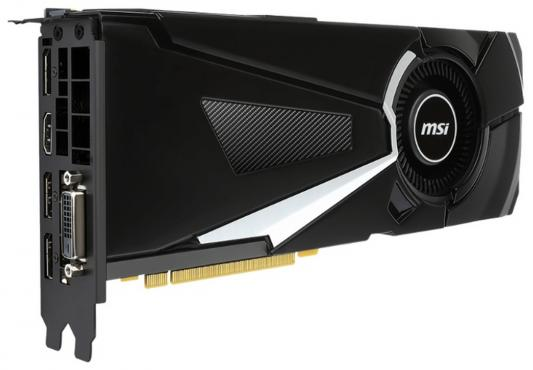 Видеокарта MSI GeForce GTX 1070 GeForce GTX 1070 AERO 8G OC PCI-E 8192Mb GDDR5 256 Bit Retail