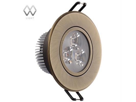 Встраиваемый светильник MW-Light Круз 637012203