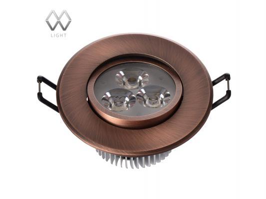 Встраиваемый светильник MW-Light Круз 637012303