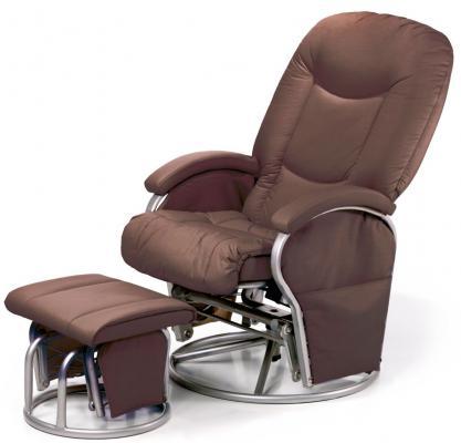 Кресло-качалка Hauck Metal Glider (brown)