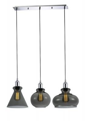 Подвесной светильник Crystal Lux Tre SP3 L Smoke люстра crystal lux fontain sp8