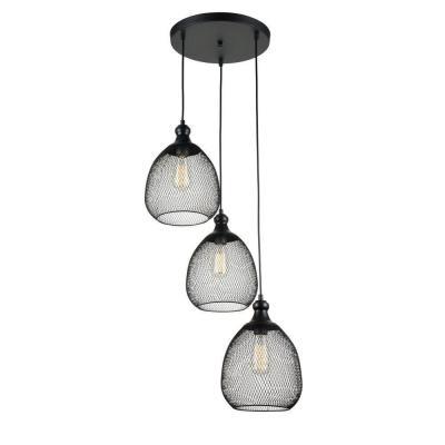 Подвесной светильник Maytoni Grille T018-03-B maytoni подвесной светильник maytoni grille t018 01 b