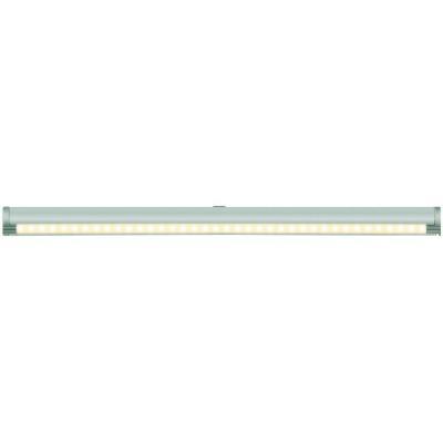 Подсветка накладная с датчиками (07730) Uniel ULE-F02-4,5W/WW/OS IP20 Silver