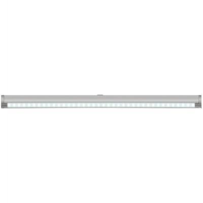 Подсветка накладная с датчиками (07731) Uniel ULE-F02-4,5W/NW/OS IP20 Silver подсветка для картин ul 00001057 uniel ult f32 9w nw ip20 silver