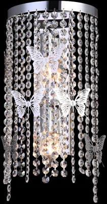 Настенный светильник Crystal Lux Bloom AP2 Chrome цена и фото