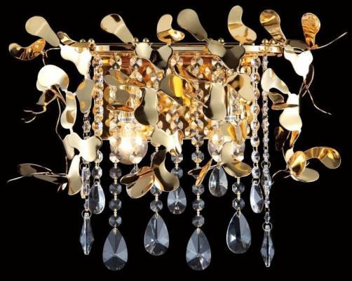 Настенный светильник Crystal Lux Romeo AP2 Gold настенный светильник crystal lux romeo ap2 gold