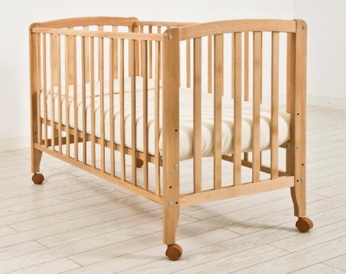 Кроватка Angela Bella Бьянка (натуральный)