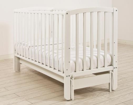 Кроватка с маятником Angela Bella Бьянка (белый)