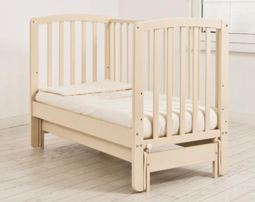 Кроватка с маятником Angela Bella Бьянка (слоновая кость)