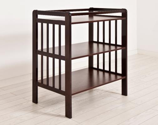 Стол для пеленания Angela Bella Вито (махагон)