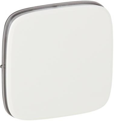 Лицевая панель Legrand Valena Allure для выключателей одноклавишных белый 755005